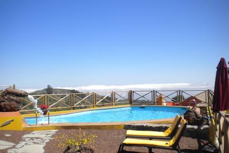 Casita  Natura-Azuaje con piscina y wifi gratis - Moya
