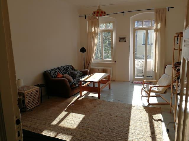 Neukölln apartment with balcony on top floor