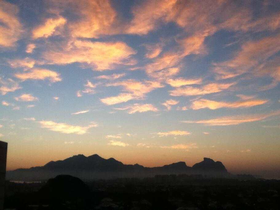 View of Dawn  Amanhecer