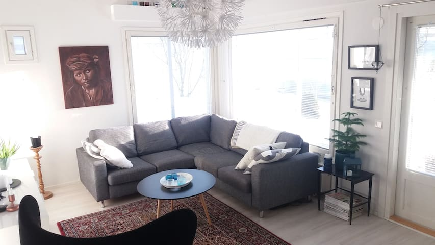 Nice apartment near Lahti - Hollola - Şehir evi