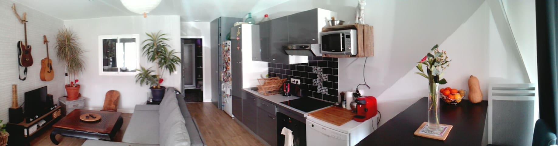 Appartement F2 location à la semaine 650E - Saint-Pée-sur-Nivelle - 公寓
