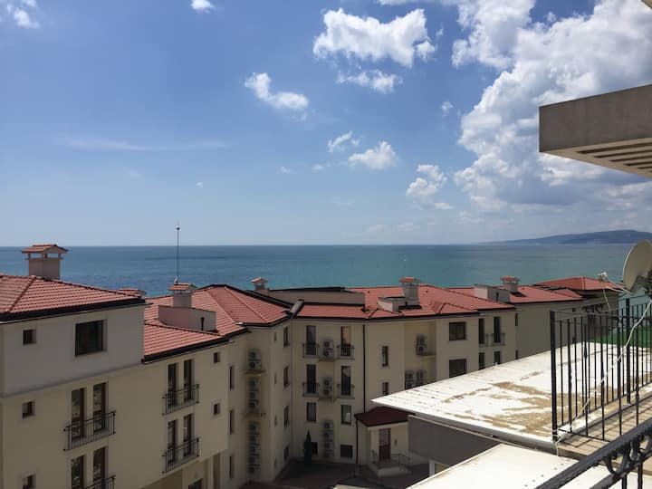 Puerto Balchik Sea view apartment