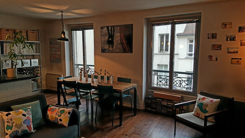 2-bedroom flat in Paris downtown