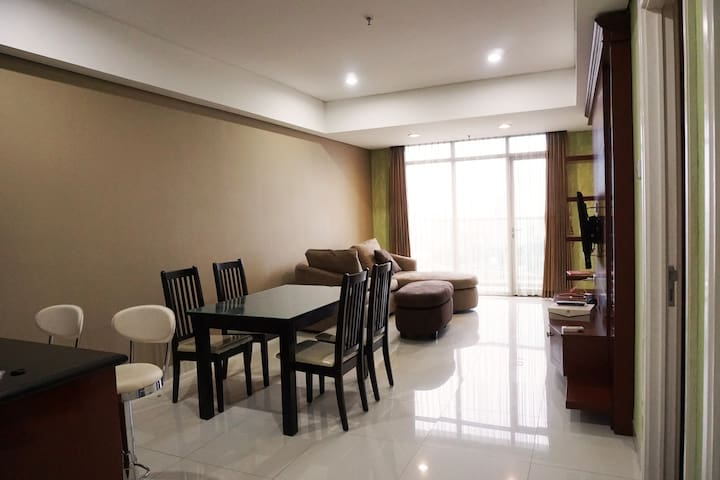 2BR Apartment in Central Surabaya; Full Furnished!