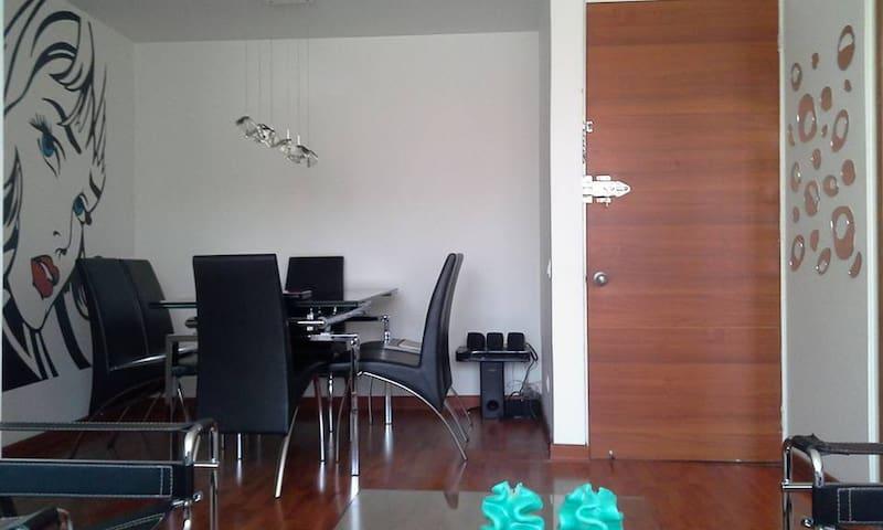 Lindo apartamento norte de Bogotá - Bogota - Apartament