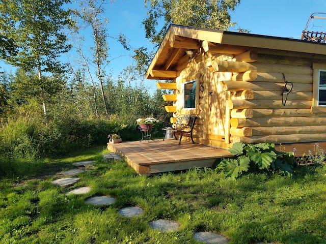 Riverfront Trapper's Cabin