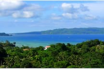 Overlooking Carabao Island from 360 roof top view