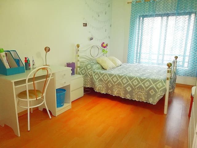 Double room and kitchen