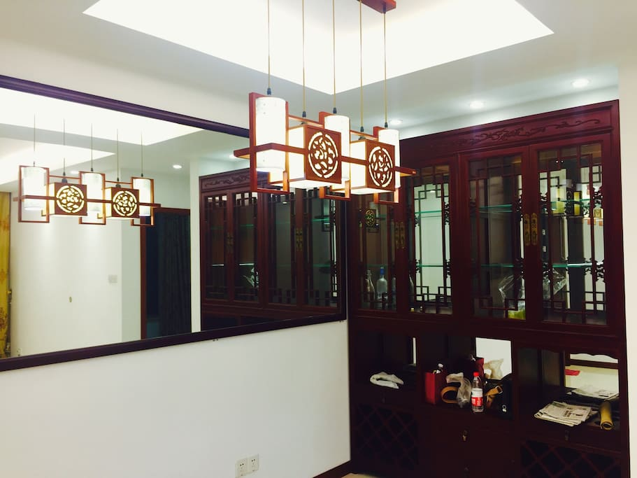 just been redecorated for one year in chinese style
