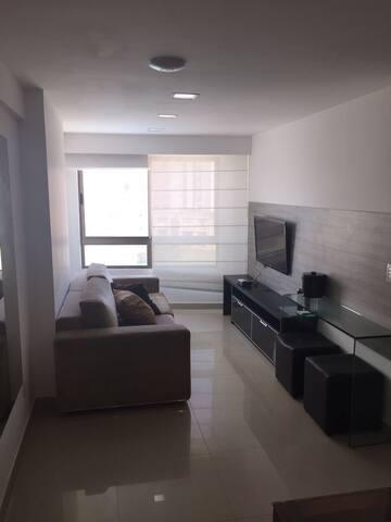 Flat 2 quartos beira mar de boa viagem - Recife - Service appartement