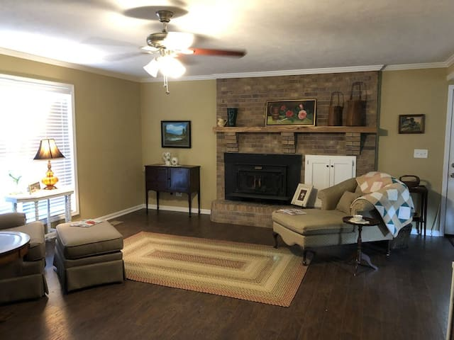 Front of living area