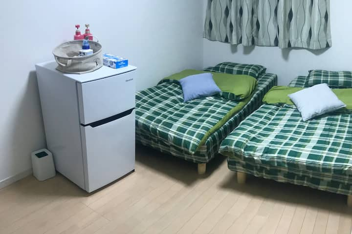 "PrivateRoom 1BS-Easy access Nippori/Ueno""YB House"""