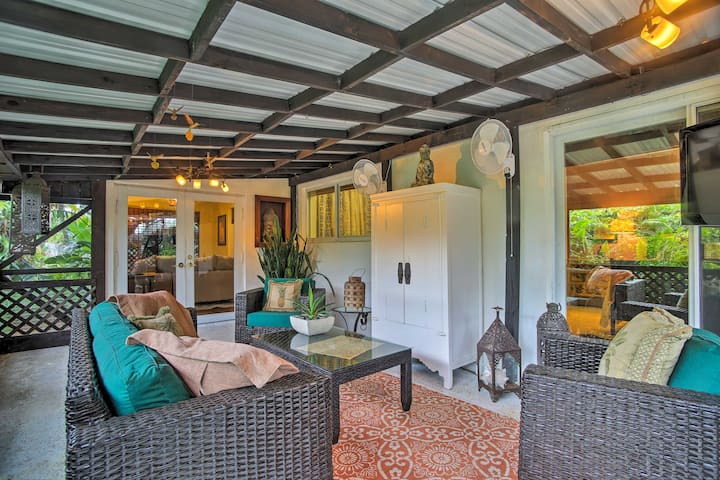 Fort Lauderdale Home w/ Hot Tub & Garden by Beach!