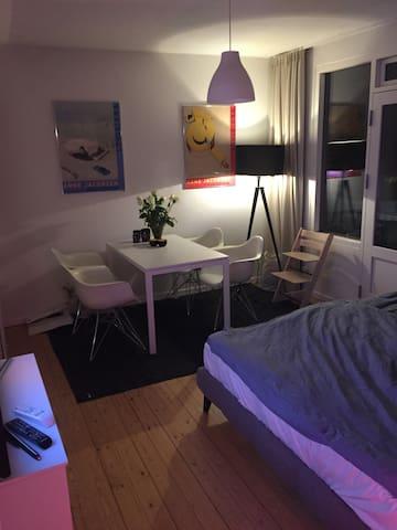 Designer 1,5 rum lejlighed 43kvm - Charlottenlund