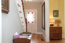 Hallway to the Second Floor
