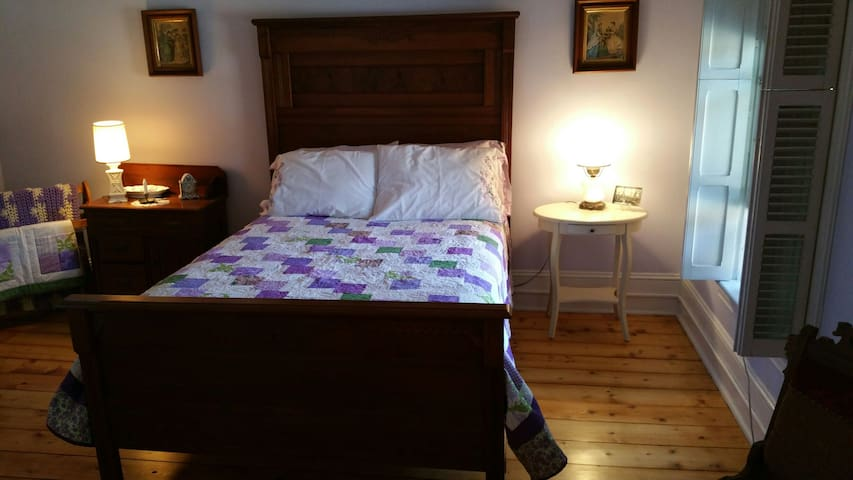 The Greene House Inn Lavender Room - Fort Plain - Penzion (B&B)