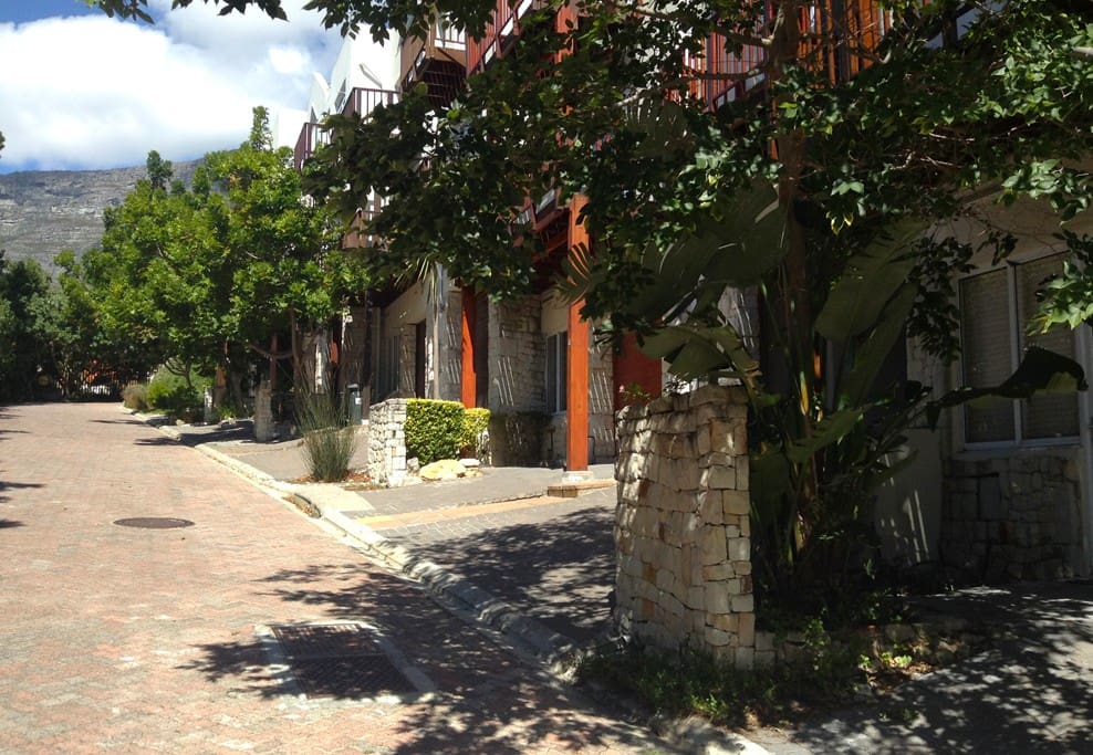 Safe streets are a feature of this private estate