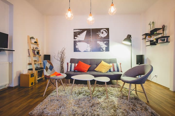 Huge  Apartment  in Central Area - București - Apartment
