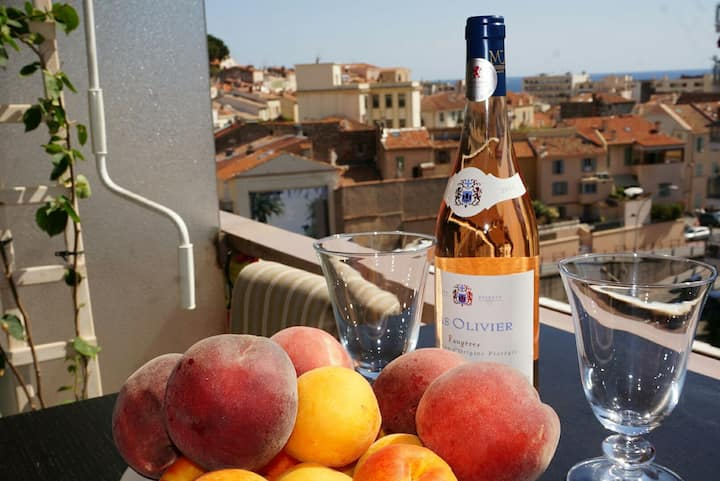New!!! 2 rooms and terrasse SUQUET view promo