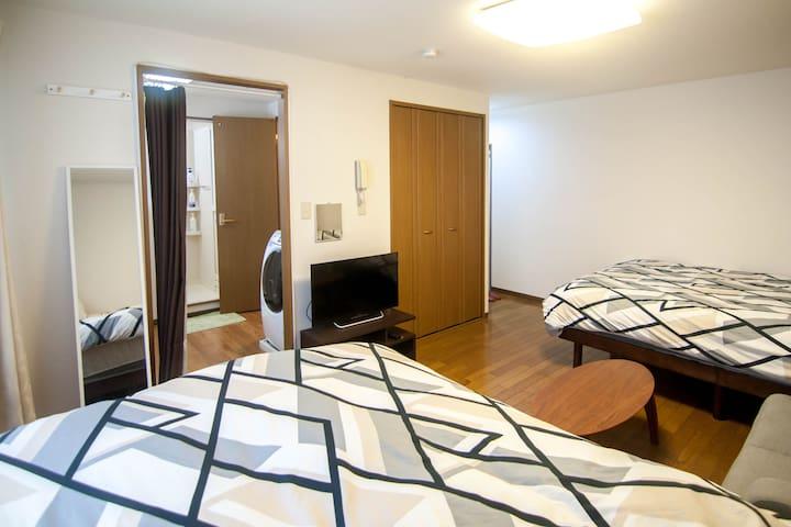 Apartments— Bathroom—gbps WiFi— 2Min Station
