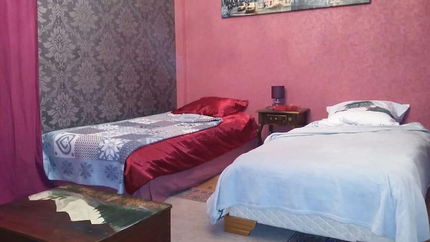 Chambre accueillante en montagne - Montricher-Albanne