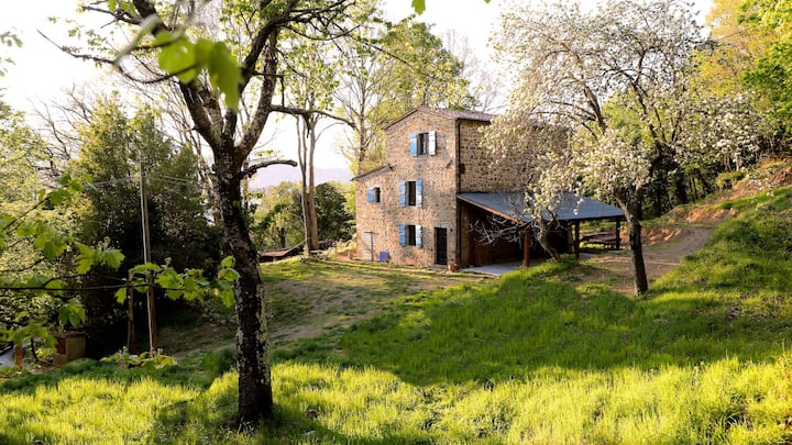 Beautiful, private Tuscan Villa in Nature Reserve