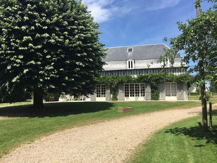 Jolie Maison normande familiale