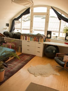 Cosy room in shared loft apartment! - Innsbruck - Loft