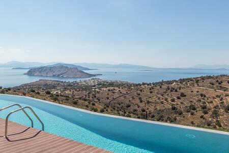 Villa Luna in Aegina - Perdika
