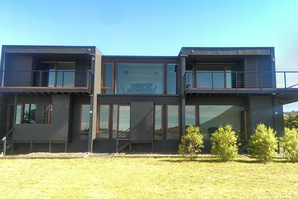 THIS LUXURY MANSION IS HOBART'S LARGEST AND ONLY WATERFRONT HOLIDAY HOME