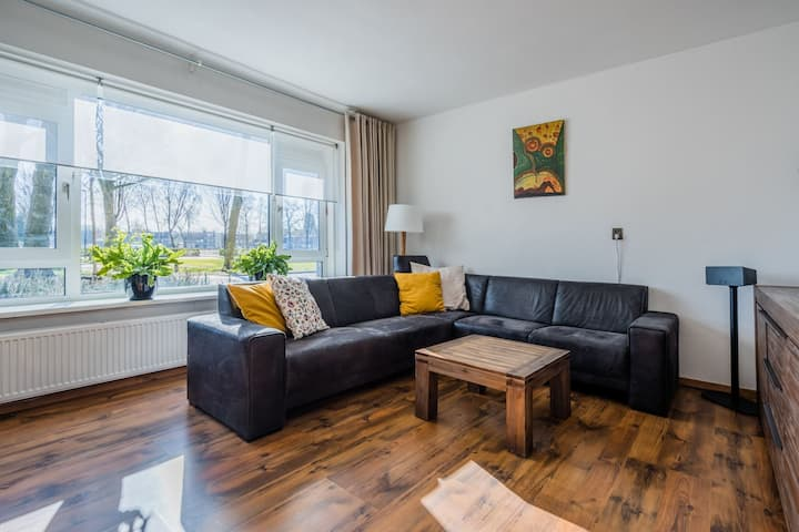 LONG TERM GROUND apartment with garden&parking