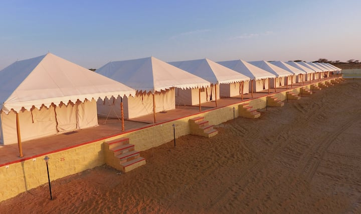 Swiss Luxury Camp for 2 People-Sam Dunes-Jaisalmer