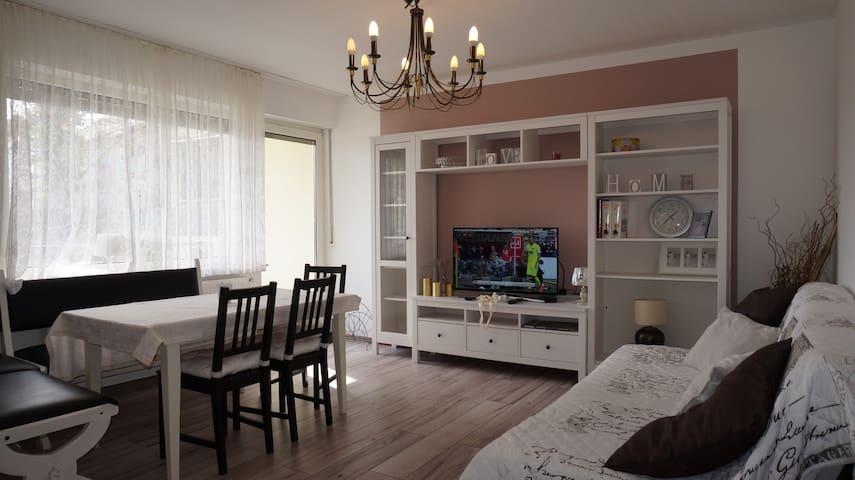 Schöne gemütliche Wohnung und Entspannung pur