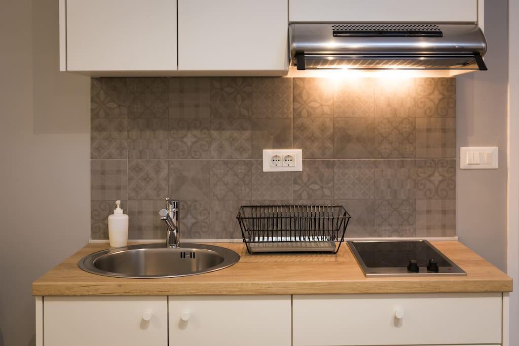 """""""Excelente ubicación - Studio súper completo: lavarropas y cocina bien equipada."""" Gianna from AR"""