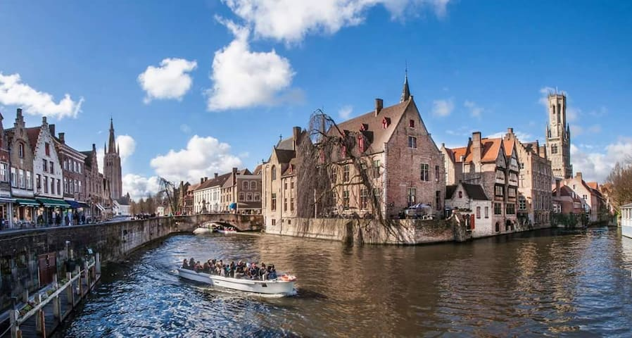 luxury b&b les invites minnewater - Brugge - Bed & Breakfast