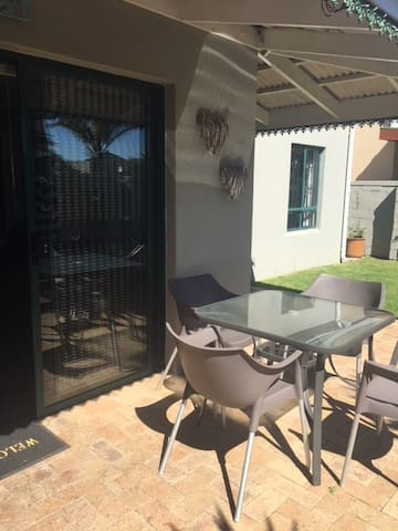 Outside Patio with Built in Braai/BBQ