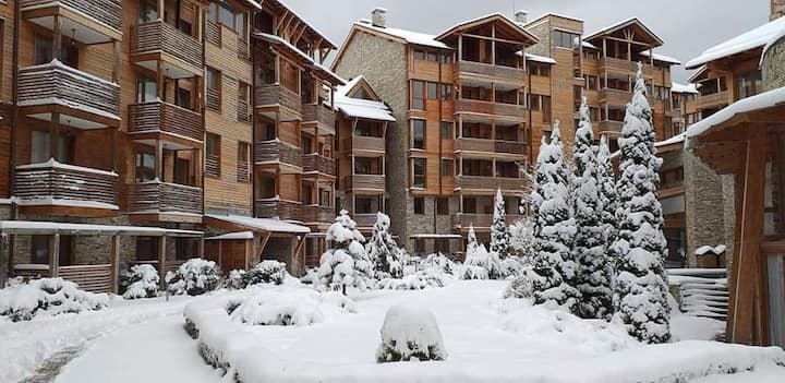The Ideal Cozy Flat for after ski