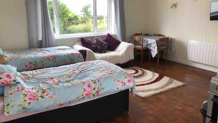 Studio Flat nr Cardigan Bay  Rural West Wales