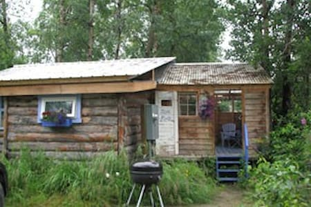 Fun and funky Blue Moon Cabin - Talkeetna - 小木屋