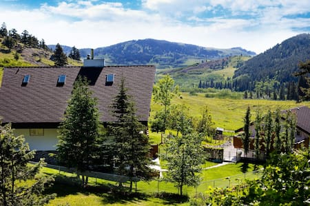 Dog-friendly Guesthouse mins from Castle Mountain