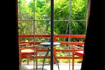 Muyuyo Ayangue - Hab. Matrimonial vista jardín