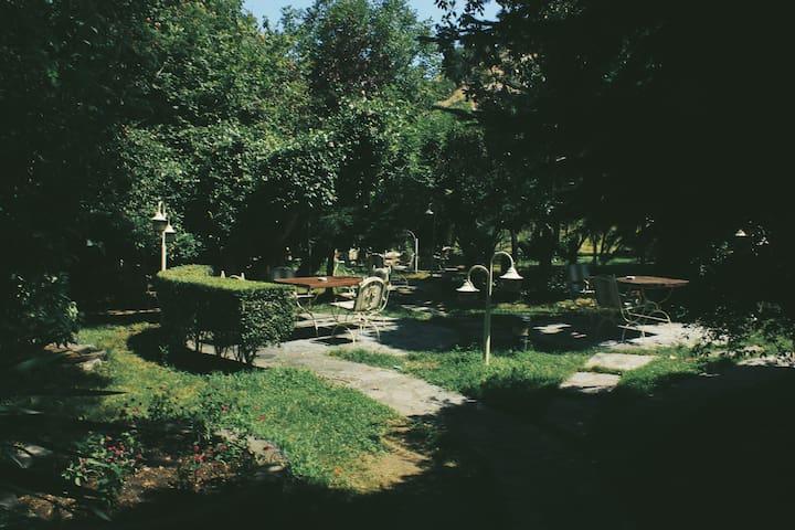 restaurant's garden