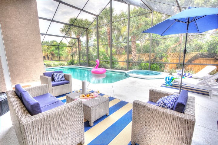 Heated Pool Lanai | Steps to Beach