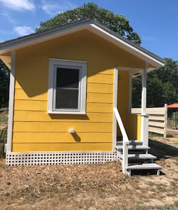 Tiny House (#3) with Private Patio