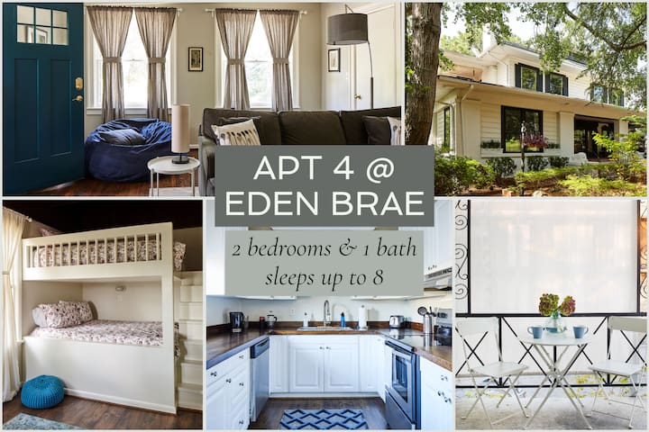 Apt4@EdenBrae - Spacious, Walkable, Dog-Friendly