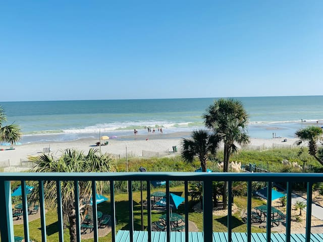 PERFECT OCEANFRONT BALCONY*Pools*Lazy River JW
