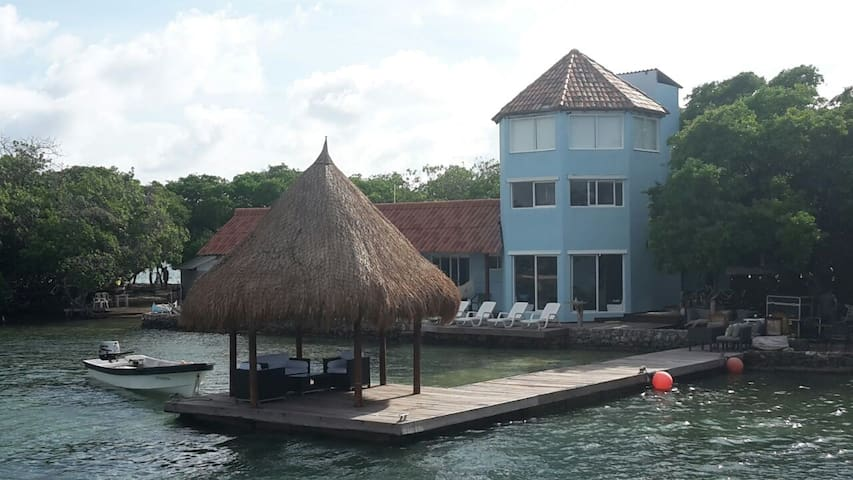 Isla Fragata. Rosario Islands. - Картахена - Остров