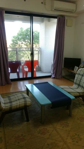 3min to Yakushima toppy port(on the third floor A) - Kagoshima - Apartament