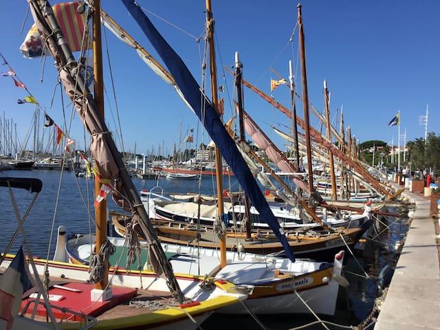Port de Bandol (2 min a pied)
