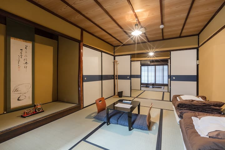 130 years old beautiful traditonal Kyoto home